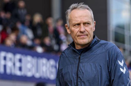 Christian Streich hat kein Mitleid mit dem VfB