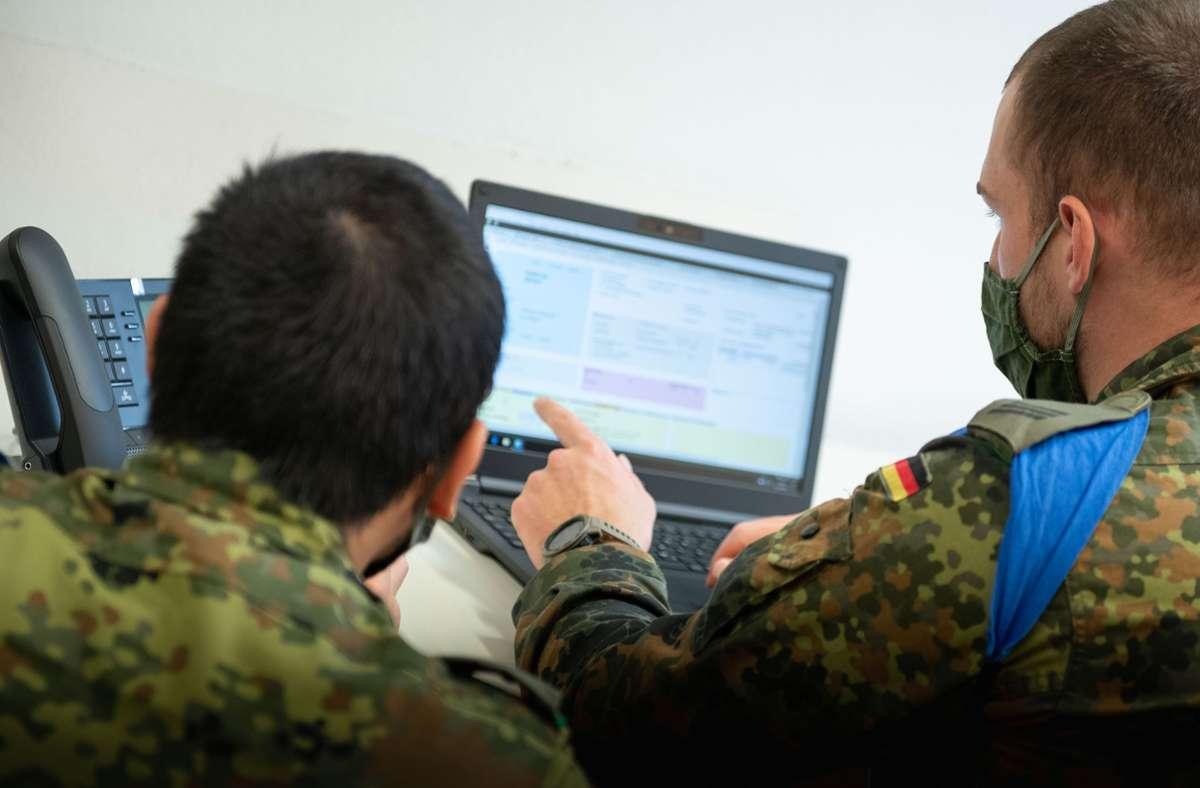Die Bundeswehr beendet ihren Hilfseinsatz im Landkreis. Foto: Leif Piechowski/Leif Piechowski