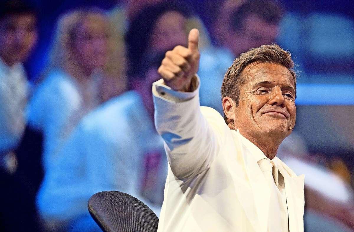 """20 Jahre lang saß er bei """"Deutschland sucht den Superstar"""" in der Jury: Dieter Bohlen. Foto: dpa/dpa"""
