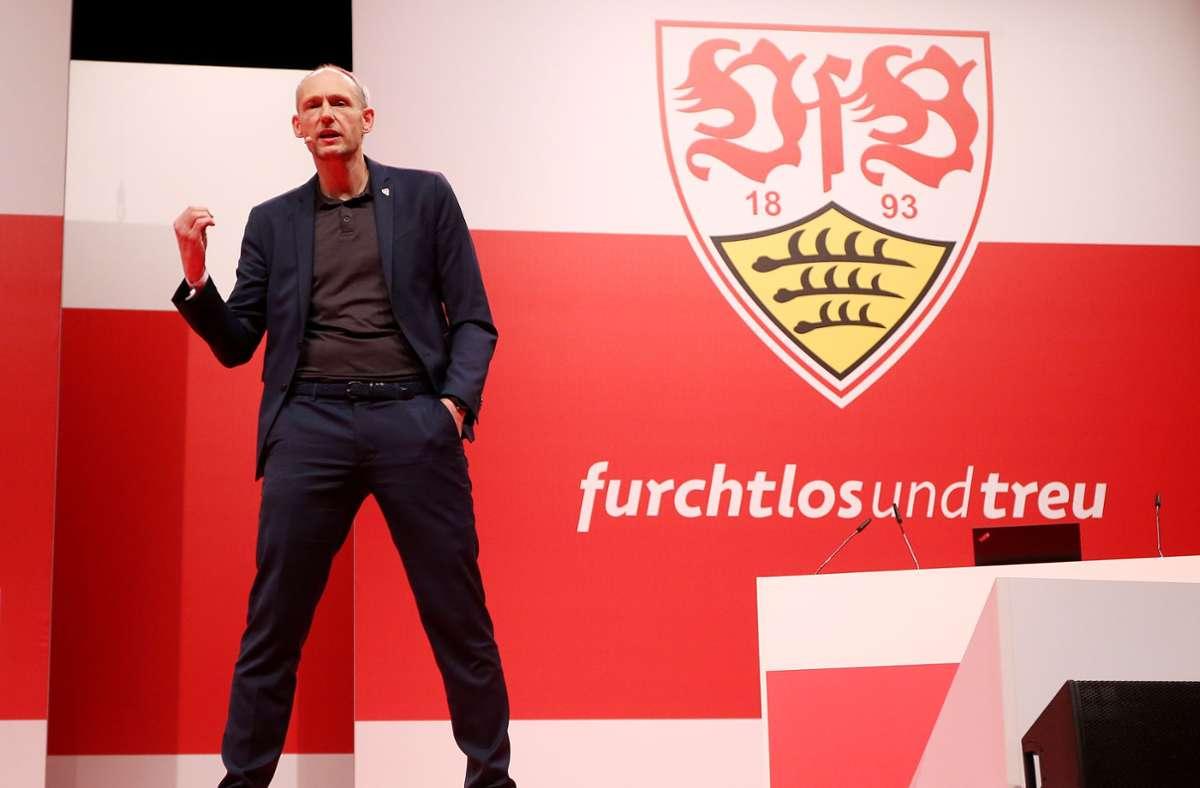 Kämpft nun um einen Posten im VfB-Präsidium: Ex-Präsidentschaftskandidat Christian Riethmüller Foto: Baumann