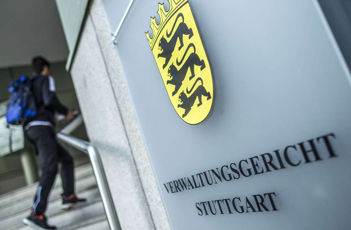 Entscheidung am Verwaltungsgericht Stuttgart Foto: imago images