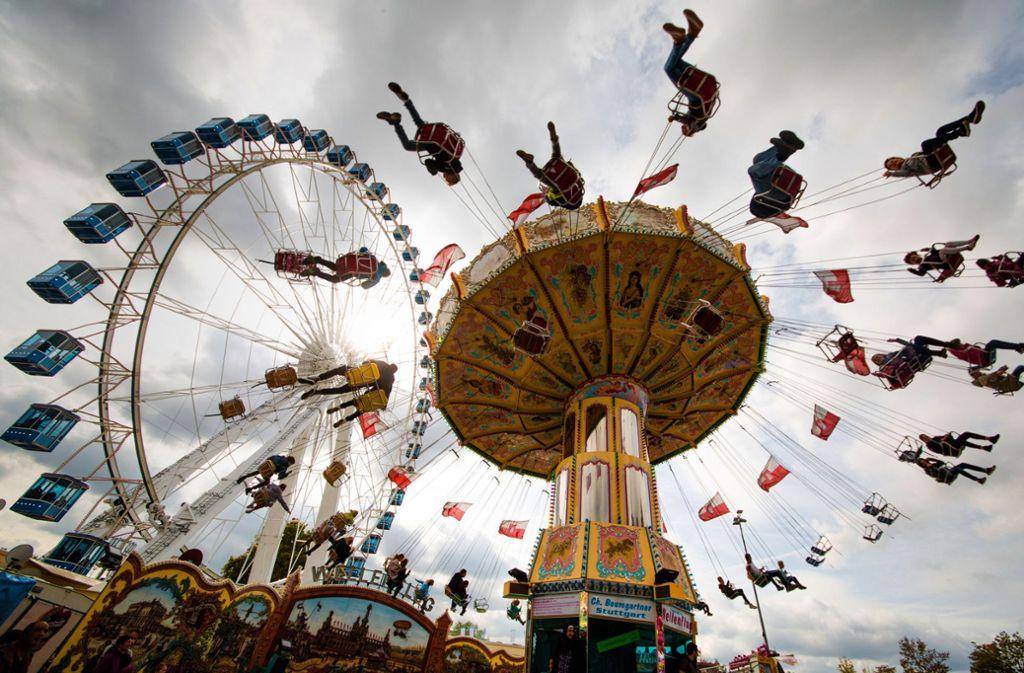 Was Sie noch nicht über das Cannstatter Volksfest und Frühlingsfest wussten, sehen Sie in unserem Video. Foto: dpa