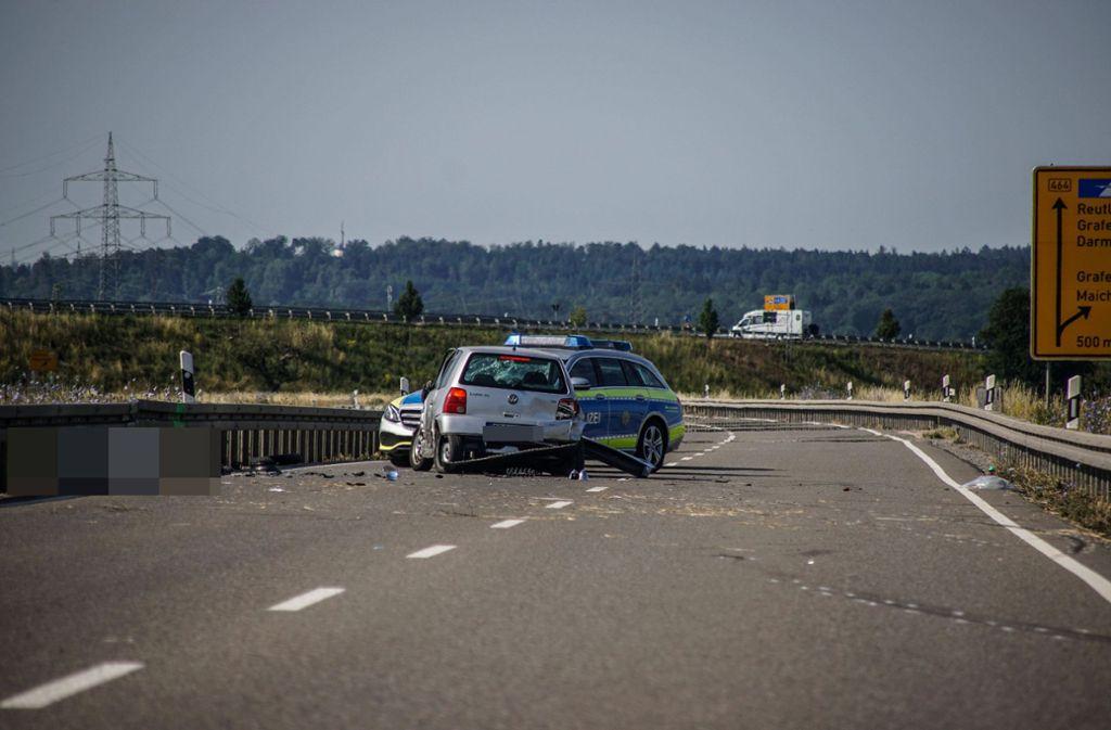 Bei dem Unfall wurde ein 31-Jähriger Motorradfahrer tödlich verletzt. Foto: SDMG