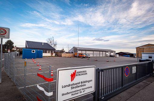 Testzentrum bei Coronavirus-Verdacht in Herrenberg errichtet