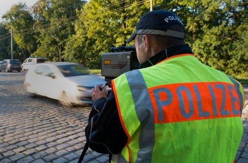 91.000 Raser gehen Polizei in Radarfalle