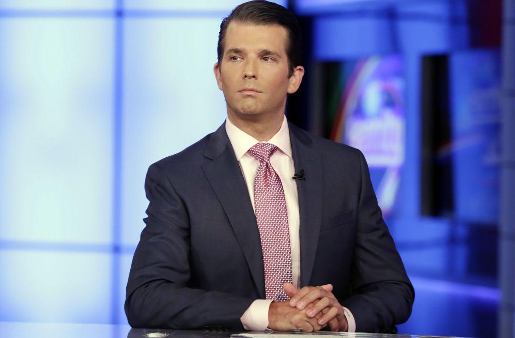 Donald Trump Jr. steht wegen seiner Russland-Kontakte in der Kritik. Foto: AP