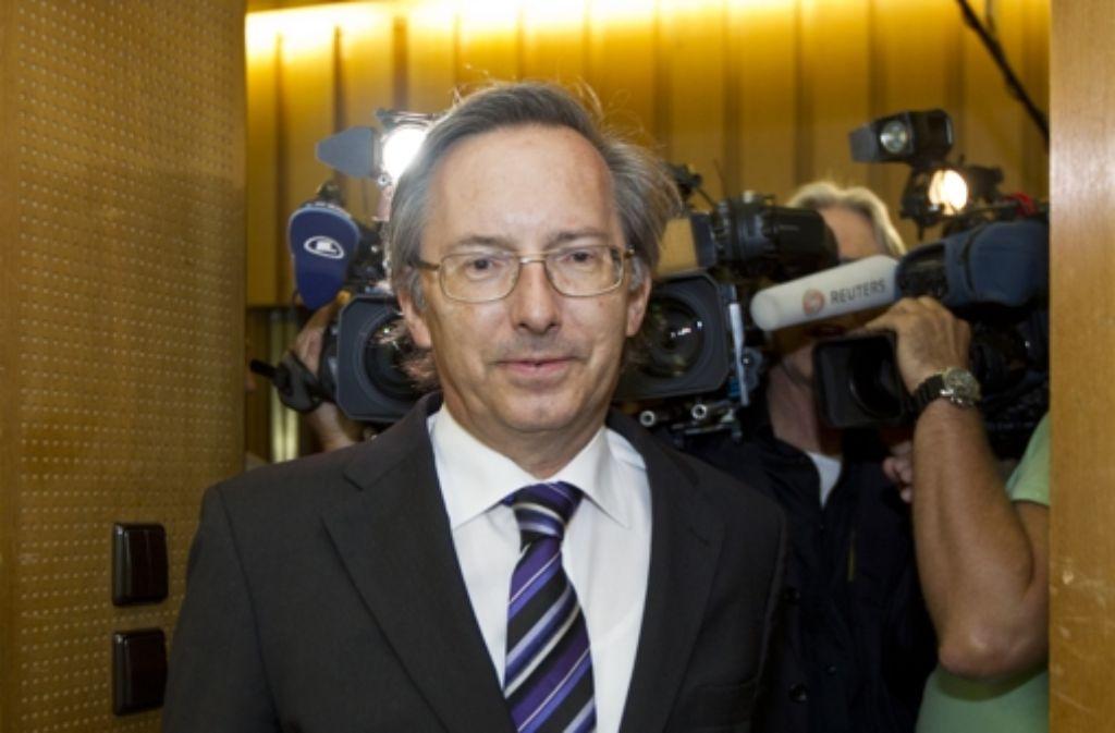 Der Präsident des Rechnungshofes, Max Munding (CDU), steht intern in der Kritik. Foto: ddp