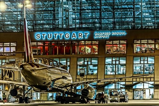 Am Flughafen Stuttgart werden in diesem Jahr  mehr als zehn Millionen Passagiere erwartet. Foto: Flughafen, Lichtgut/Achim Zweygarth