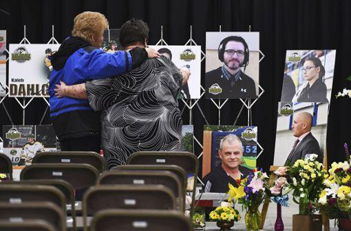 Acht Jahre Haft für Fahrer nach Bus-Katastrophe in Kanada
