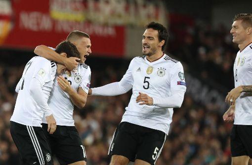DFB-Team löst WM-Ticket nach Russland