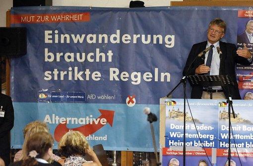 """AfD-Chef Meuthen: """"Wir sind gekommen, um zu bleiben"""""""