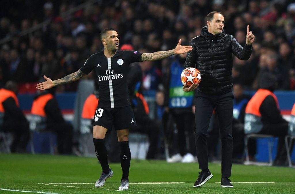 """Auch Thomas Tuchel scheitert an der """"Mission Henkelpott"""": PSG verpasst das Viertelfinale. Foto: Getty Images Europe"""