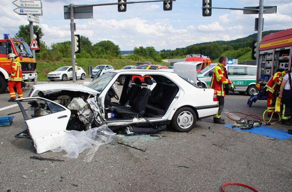 Unfall B462 Gaggenau Heute