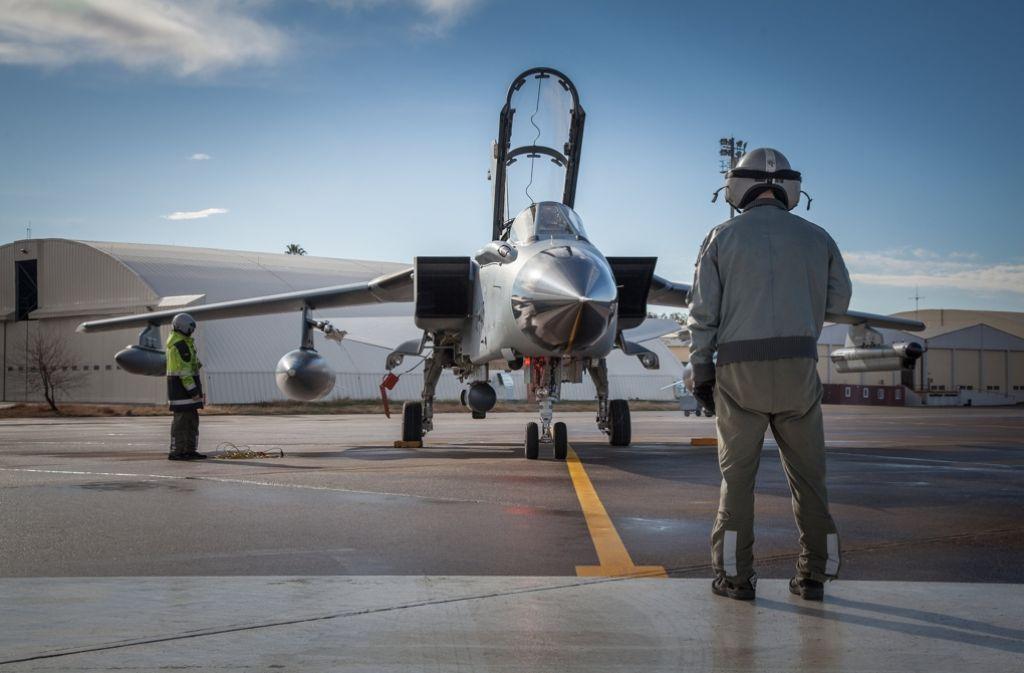 Bisher hat  die Bundeswehr von Incirlik 632 Einsatzflüge durchgeführt, davon 443 mit dem Aufklärungsflugzeug Recce-Tornado und 189 mit dem Tankflugzeug Airbus A310. Foto: Bundeswehr