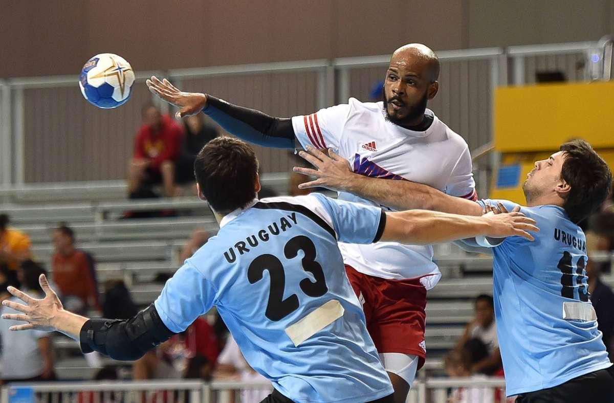 Die Handballer aus Uruguay sind bislang international kaum in Erscheinung getreten – in Ägypten starten sie erstmals bei einer Weltmeisterschaft. Foto: imago/Zuma Wire