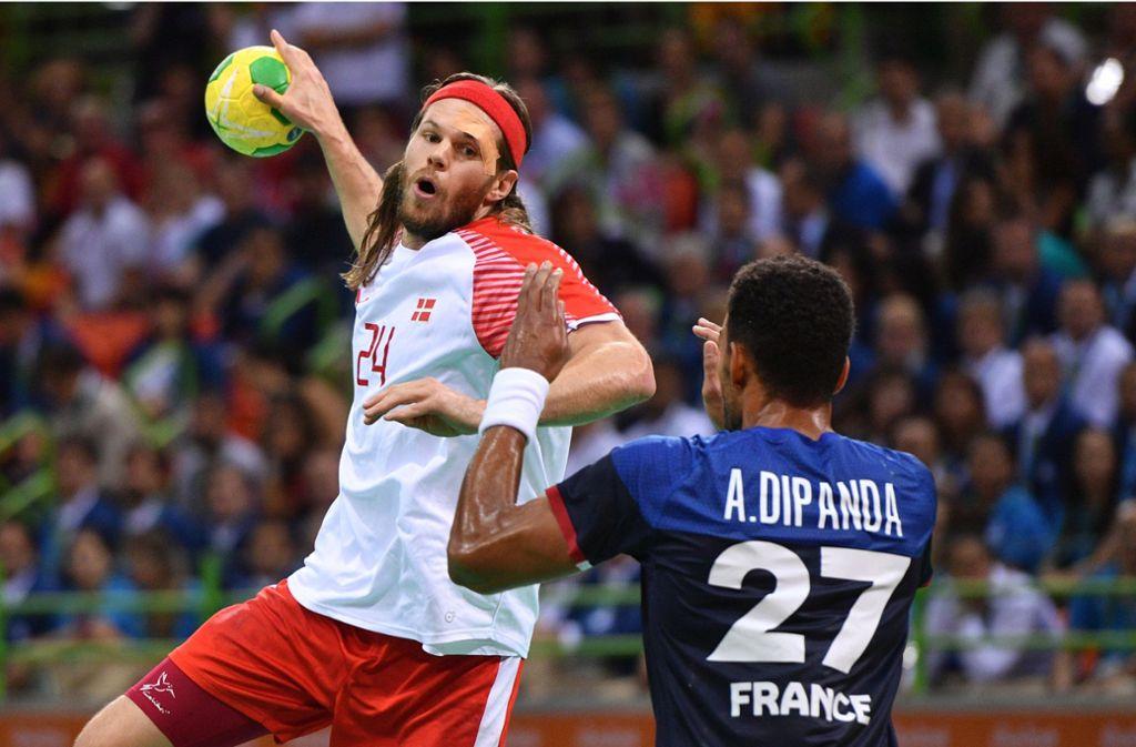 Mikkel Hansen ist einer der Stars des Olympiasiegers Dänemark. Foto: dpa