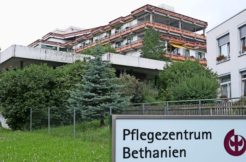 In Zukunft wird sich viel verändern: Das Pflegezentrum wird abgerissen. Foto: Eileen  Breuer
