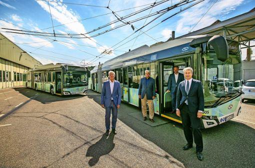 Staatssekretär verspricht Geld für E-Bus-Netz