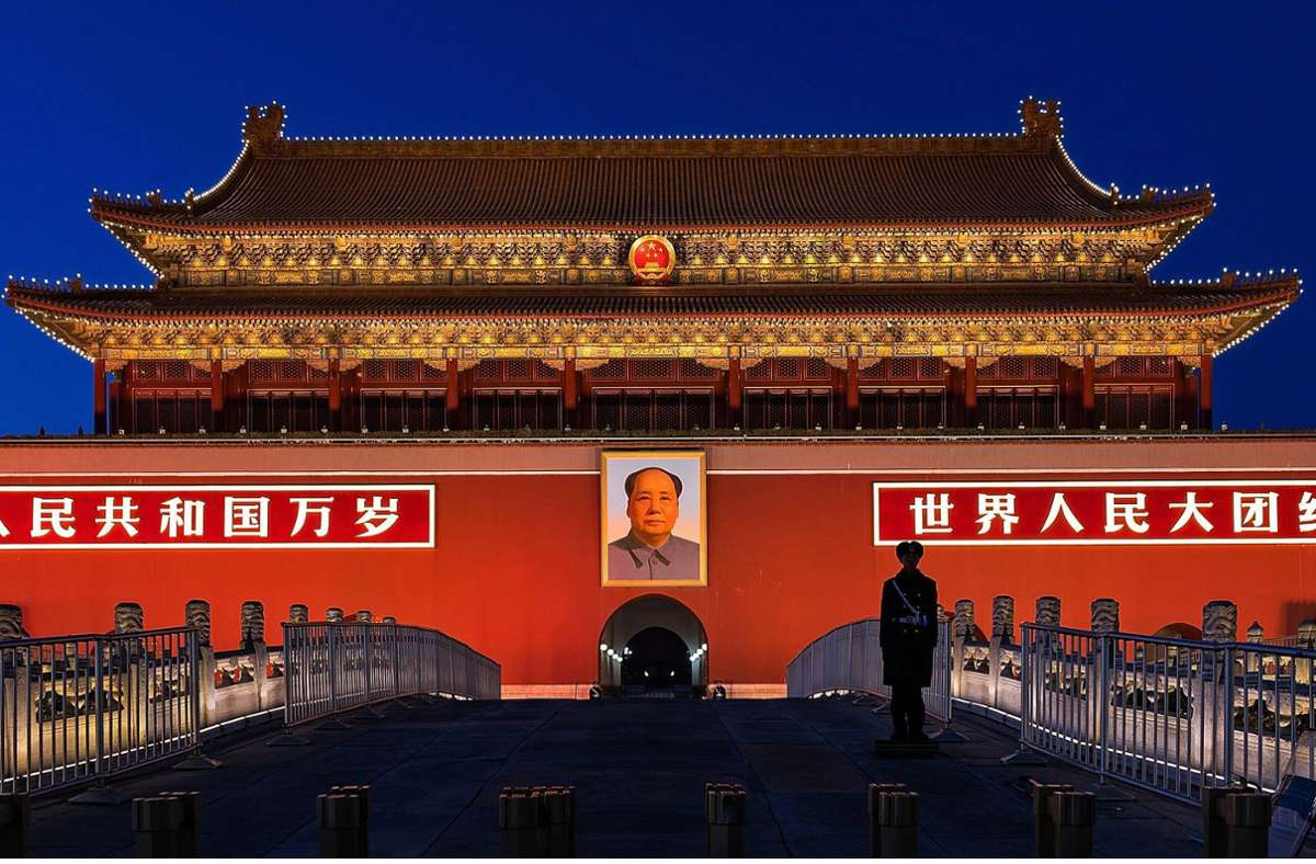 """Zwischen redlicher Kritik  am China-Bild des Westens und den Phrasen eines Twitter-Trolls pendelt das Buch """"Das chinesische Jahrhundert"""". Foto: imago/Jan Huebner"""