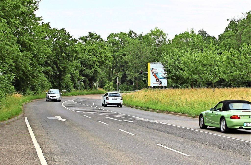 Wird es entlang der Mittlern Filderstraße künftig einen Radweg geben? Foto: Holowiecki