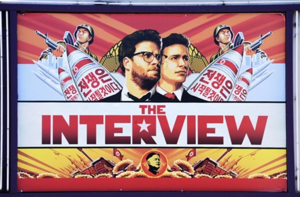 """Auslöser für die verschärften Sanktionen ist ein Hackerangriff auf Sony Pictures, um das Filmstudio zu zwingen, den Film """"The Interview"""" abzusetzen. Die USA macheen Nordkorea für die Cyber-Attacke verantwortlich. Foto: AFP"""