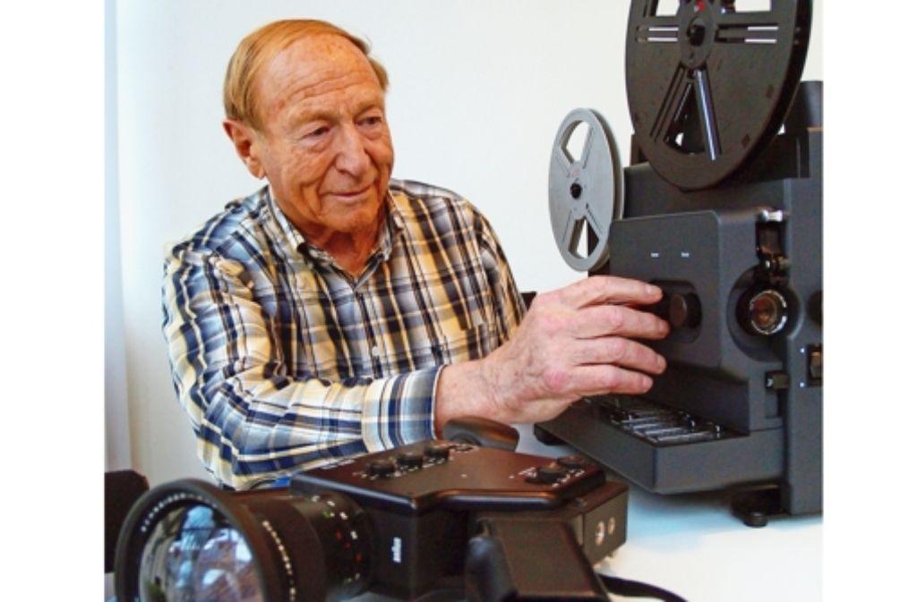 Gebäude, Menschen, Feste: Rolf Armbruster sucht Filme aus Degerloch. Foto: Rüdiger Ott