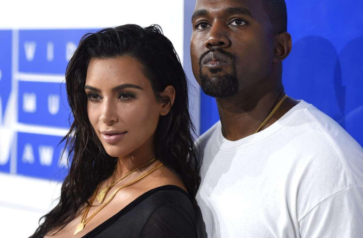 Kim Kardashian will den sozialen Medien vorerst fern bleiben. Foto: AP/Evan Agostini