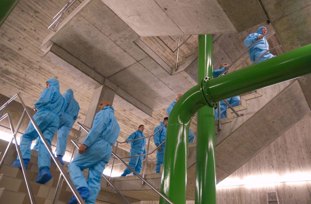 Auch der Wasserbehälter an der Hasenbergsteige gehört zum Netz, dass die Stadt erwerben will. Foto: EnBW AG