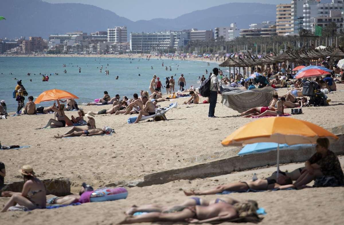 Die Schüler befanden sich auf Abschlussfahrt auf Mallorca. Foto: dpa/Francisco Ubilla