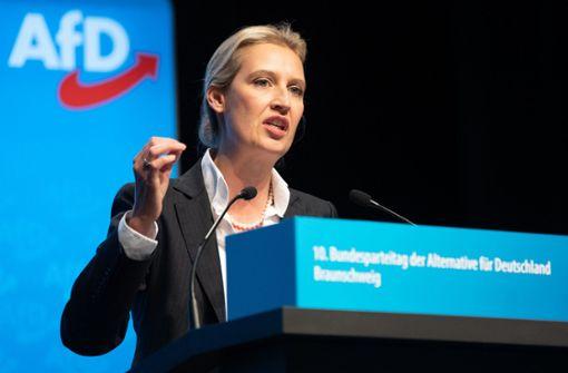 Übernimmt Alice Weidel den zerstrittenen AfD-Landesverband?