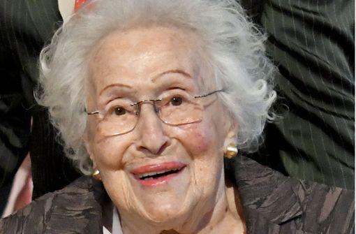 Sopranistin Hilde Zadek stirbt im Alter von 101 Jahren