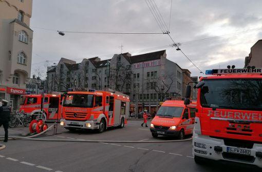Kellerbrand löst Großeinsatz der Feuerwehr aus