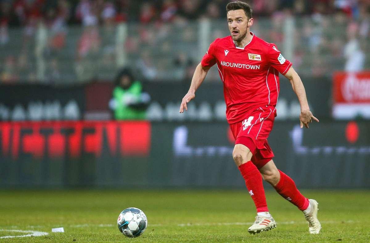 Christian Gentner spielt für Union Berlin und trug davor das Trikot des VfB Stuttgart. Foto: dpa/Andreas Gora