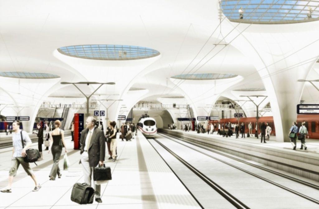 Stuttgart 21  ist für Bahnkritiker ein unwirtschaftliches Projekt. Foto: Aldinger & Wolf