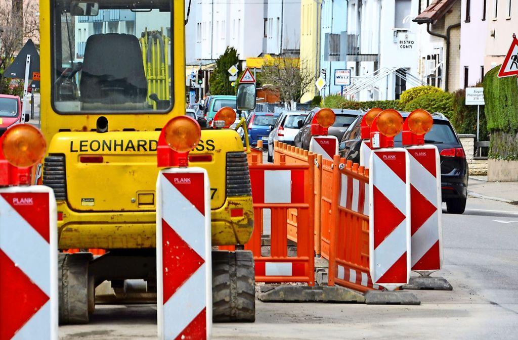 Sommerferienzeit ist Baustellenzeit – auch in Vaihingen und Möhringen sind derzeit zahlreiche Bauarbeiter tätig. Foto: Sandra Hintermayr
