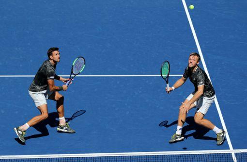 French-Open-Sieger Krawietz/Mies erreichen in New York das  Halbfinale