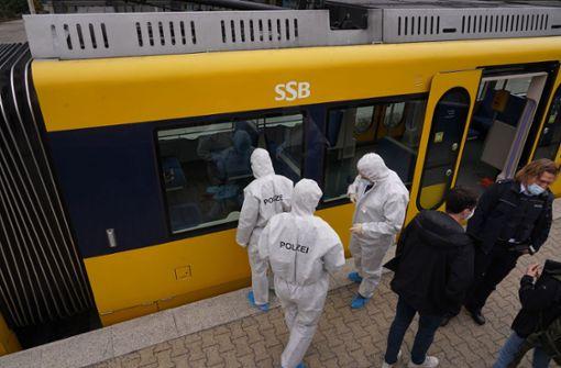 Religiöse Wahnsinnstat in der Stadtbahn in Stuttgart
