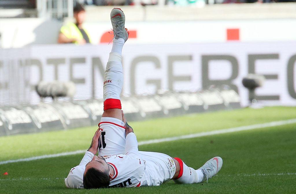 Fehlt dem VfB Stuttgart noch mindestens zwei Wochen: Stürmer Anastasios Donis Foto: Baumann