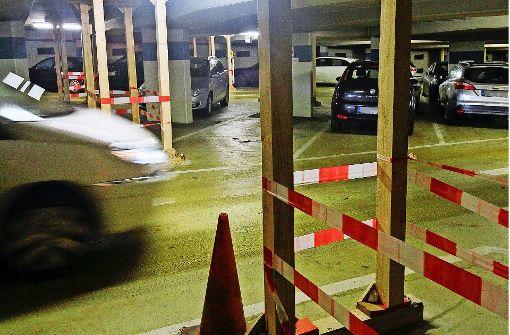 Streusalz macht Parkhäuser zu Ruinen