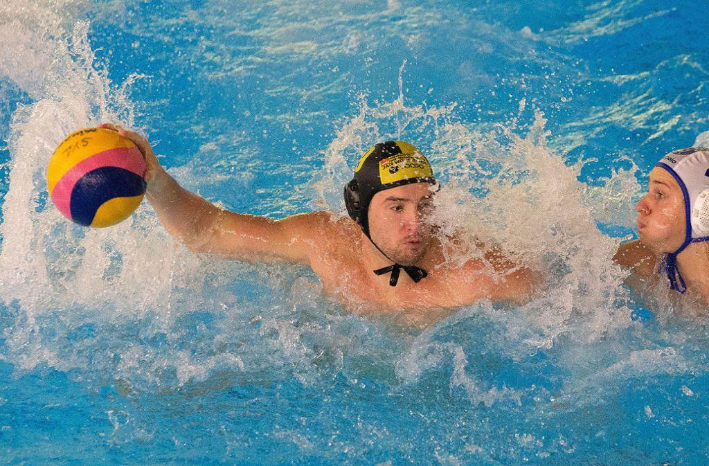 Die Wasserballer des SV Ludwigsburg, hier Deni Cerniar, brauchen eine neue Spielstätte. Foto: Pressefoto Baumann