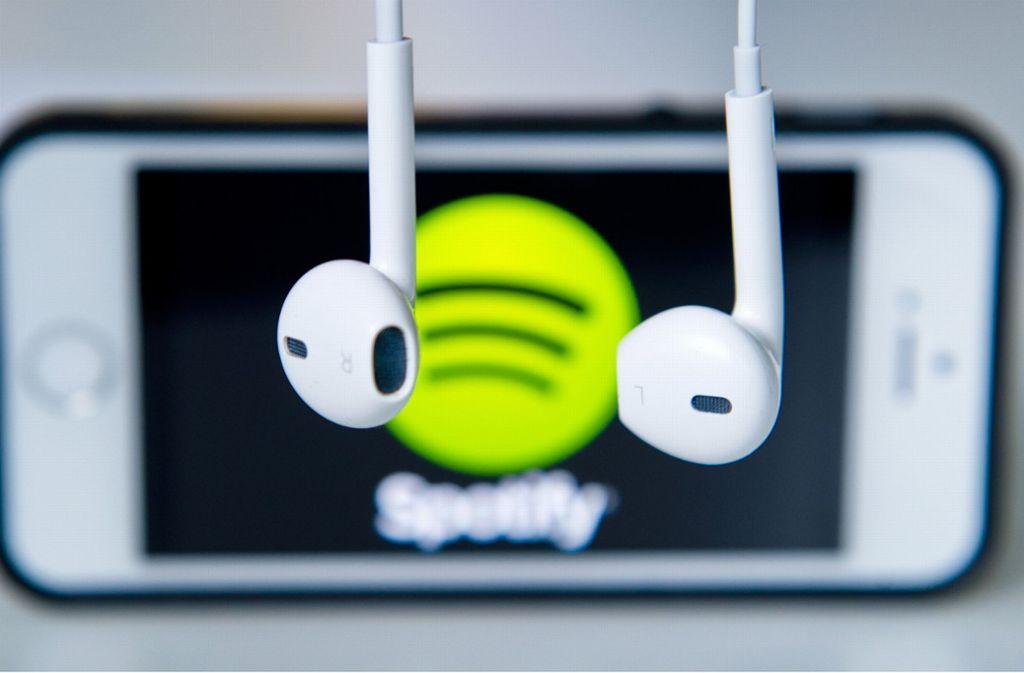 Spotify schloss das vergangene Quartal mit 96 Millionen zahlenden Abo-Kunden ab, 9 Millionen mehr als drei Monate zuvor. Foto: dpa
