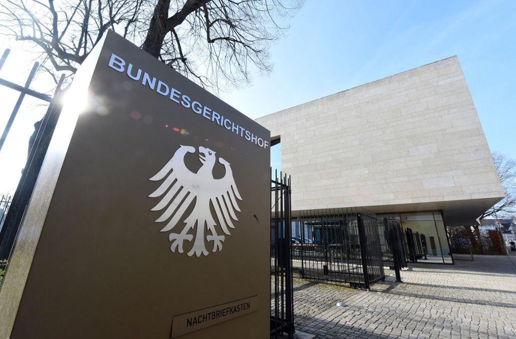 Der Bundesgerichtshof in Karlsruhe hat einen Freispruch aufgehoben. Foto: dpa