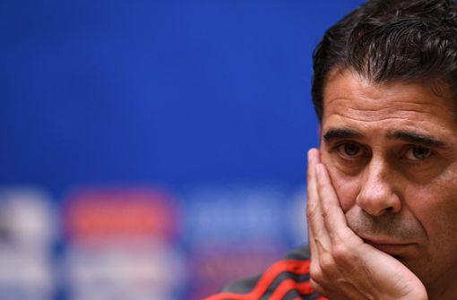 Spaniens Nationaltrainer Hierro zurückgetreten