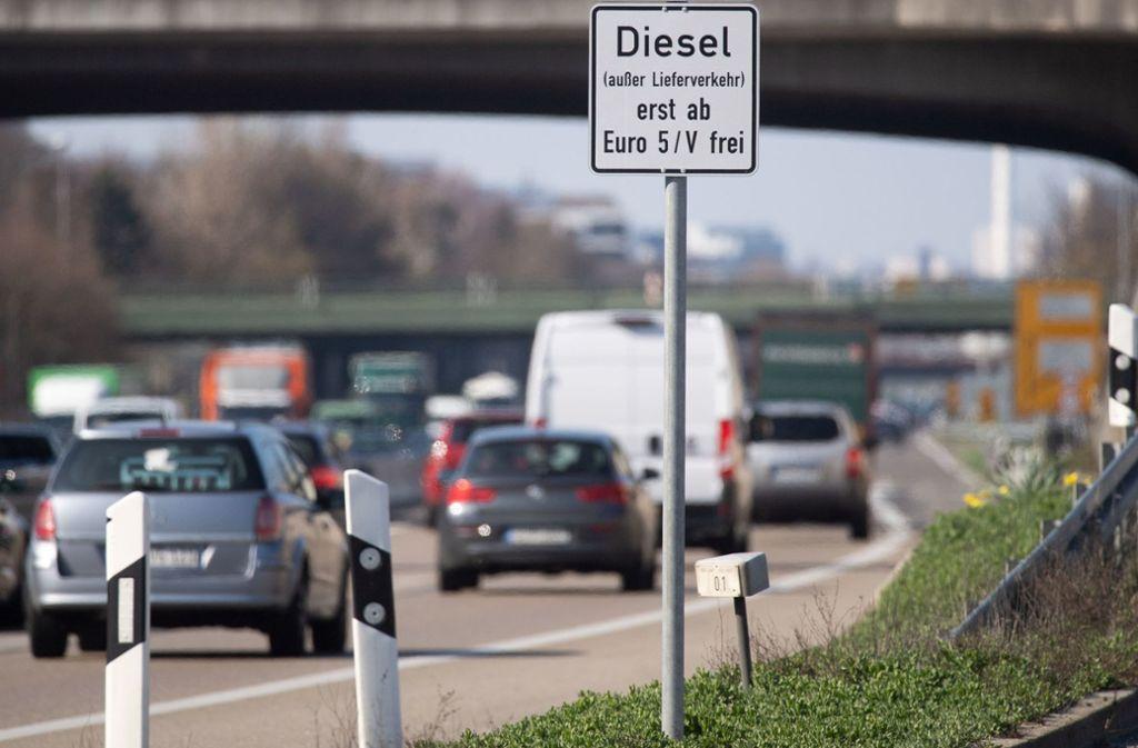 Das Fahrverbot trat am 1. Januar in Kraft. Foto: dpa