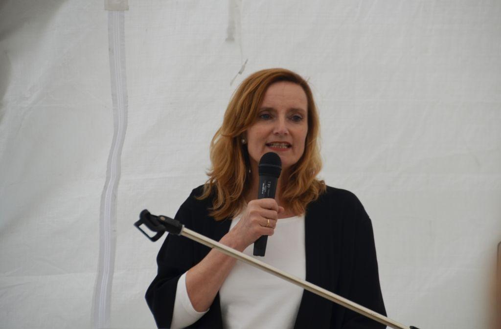 Freie Wähler und FDP haben der Stuttgarter Sozialbürgermeisterin Isabel Fezer  eine zweite Amtszeit gesichert. Foto: Sandra Hintermayr