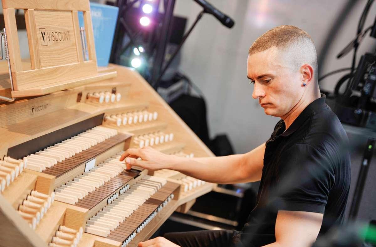 Orgel-Rebell mit Sendungsbewusstsein: Cameron Carpenter Foto: Lichtgut/Max Kovalenko