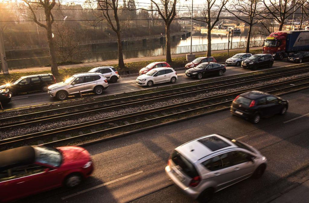 Stau gehört in Stuttgart zum Alltag. Foto: Lichtgut/Max Kovalenko