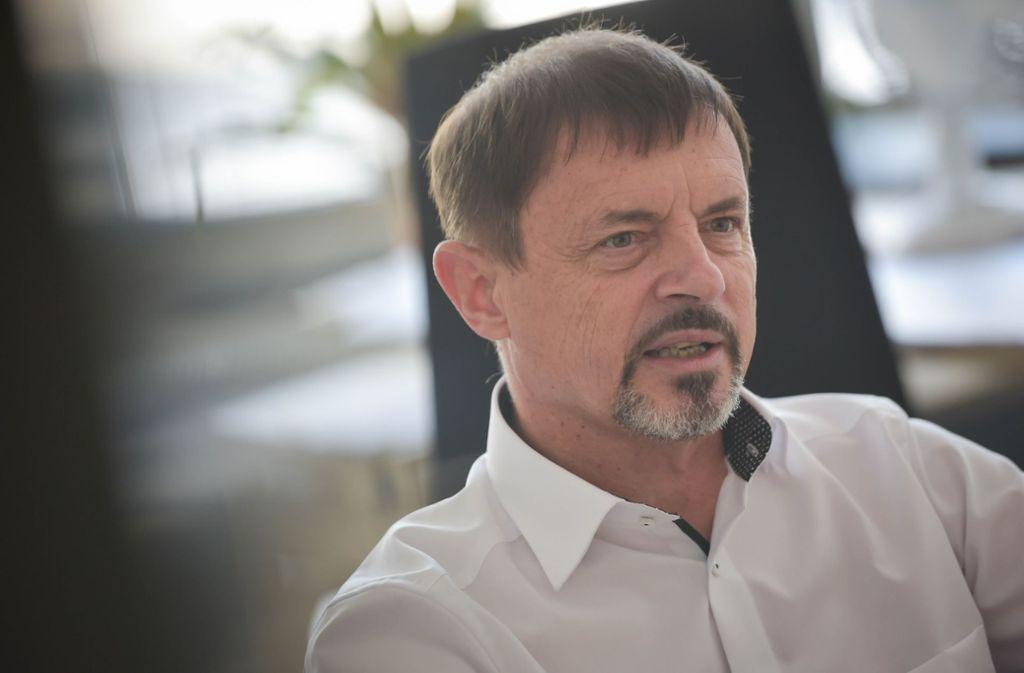 Ralf Scholl ist der Interessenvertreter der Gymnasiallehrer im Südwesten. Foto: Lichtgut/Max Kovalenko