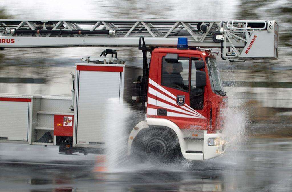 In Calw war die Feuerwehr nach einer Gewitterfront mehrmals im Einsatz. Foto: dpa