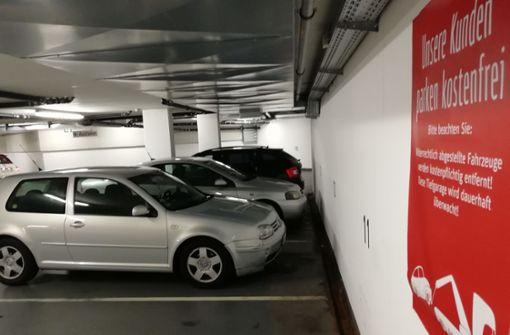 Wiederholungstäter blockieren Kundenparkplätze